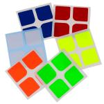 Supersede Half-bright Oracal Cube Stickers for DaYan 2x2 Magic Cube