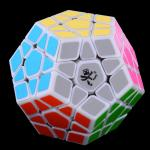 DaYan Megaminx Dodecahedron Magic Cube White