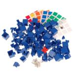 MHZ 3x3x4 Magic Cube DIY Kit Blue