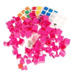 MHZ 3x3x4 Magic Cube DIY Kit Pink