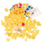 MHZ 3x3x4 Magic Cube DIY Kit Yellow
