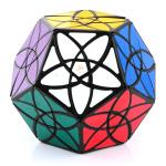 MF8 Bauhinia Dodecahedron Magic Cube Black