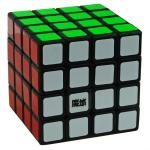YJ MoYu WeiSu 4x4x4 Magic Cube Black