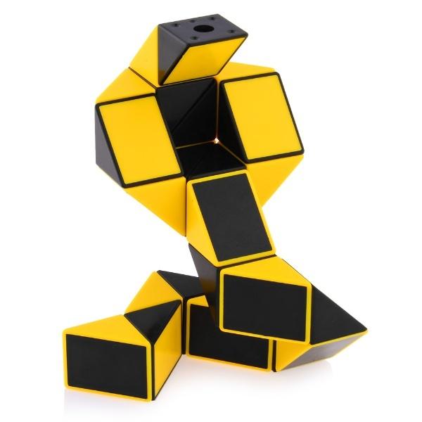 ShengShou Magic Snake Ruler Puzzle 24-Pieces Yellow Non-Twisty  Puzzles Cubezz.com  Professional Puzzle Store for Magic Cubes e1450f4e60d4
