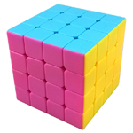 MoYu AoSu 4x4x4 Stickerless Speed Cube 62mm Pink Version