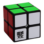YJ MoYu LingPo 2 Layers Magic Cube Black