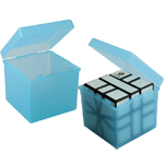 Candy Color Transparent PP Protection Box for 57mm Magic Cub...