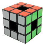 LanLan Void Hollow 3x3x3 Magic Cube Black