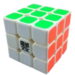 MoYu Mini AoLong Speed Cube 54.5mm White