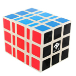 Fully-Functional Shape-Shifting 3x3x5 V2 Magic Cube Transparent