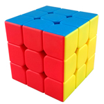 MoYu Mini AoLong Stickerless Speed Cube 54.5mm Fluorescent Color