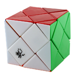 DaYan Dino F-Skewb Stickerless Magic Cube