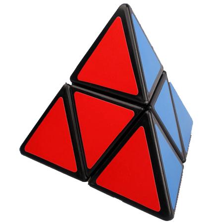 Mozhi 2 Layer Pyraminx Black Pyraminx Cubezz Com Professional Puzzle Store For Magic Cubes
