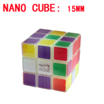 Maru Luminous 15mm Nano Cube - Smallest 3x3x3 Magic Cube DIY...