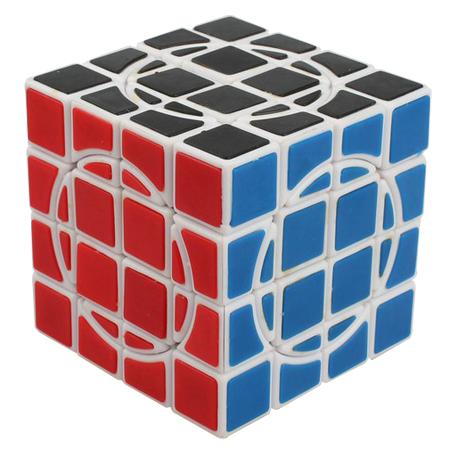 mf8 dayan crazy 4x4x4 magic cube white 4x4x4 up cubezz. Black Bedroom Furniture Sets. Home Design Ideas