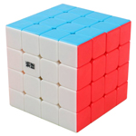 MoYu AoSu 4x4x4 Stickerless Speed Cube 62mm Standard Color