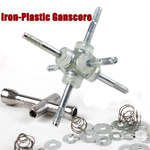 Iron-Plastic Ganscore Spring Screw Set