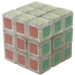 DIY Tiled 3x3x3 Magic Cube Transparent