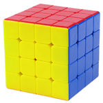 YuXin Blue Kylin 4x4x4 Stickerless Speed Cube 60mm