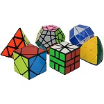 ShengShou 6 Magic Cubes Bundle - Skewb Megaminx Pyraminx Mas...