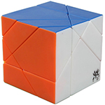 DaYan Tangram Stickerless Magic Cube