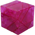 DaYan Tangram Magic Cube Transparent Purple