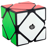CONGS DESIGN MeiChen Skewb Speed Cube Black