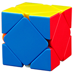 MoYu Magnetic Positioning Skewb Stickerless Speed Cube