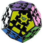 LanLan Gear Megaminx Magic Cube Black
