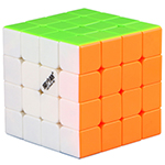 QiYi Mofangge WUQUE 4x4x4 Stickerless Speed Cube 62mm
