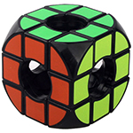 SY Arc Angle 3x3x3 Void Magic Cube Puzzle Black