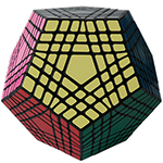 ShengShou Teraminx Magic Cube Black