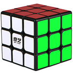 QiYi SAIL 3x3x3 Magic Cube Black 60mm