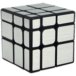 Cubing Classroom Mirror S 3x3x3 Brushed Silver Stickered Mag...