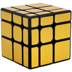 Cubing Classroom Mirror S 3x3x3 Brushed Golden Stickered Mag...