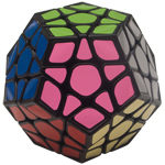 ShengShou Pearl Megaminx Speed Cube Black