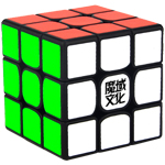 MoYu Weilong GTS2 3x3x3 Speed Cube Black