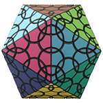VeryPuzzle Clover Icosahedron D1 Twisty Puzzle Toy