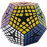ShengShou 6 Layers Megaminx Magic Cube Black