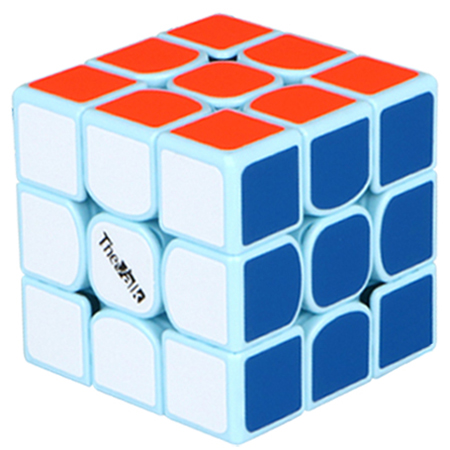 QiYi Valk3 3x3x3 Speed Cube Edition for Collection Aqua Blue