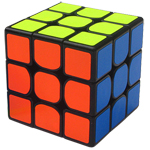 ShengShou Pearl 3x3x3 Speed Cube Black
