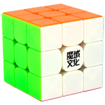MoYu Weilong GTS2M V2 Magnetic 3x3x3 Stickerless Speed Cube