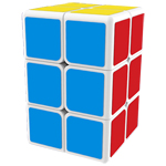 MoFangGe 2x2x3 Speed Cube White