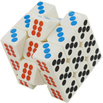 MoYu Dice 3x3x3 Magic Cube Puzzle