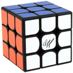 GuoGuan Yuexiao Pro 3x3x3 Speed Cube 56mm Black