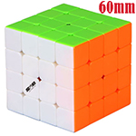 MoFangGe Mini Thunder Clap 4x4x4 Stickerless Speed Cube 60mm