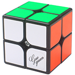 GuoGuan XingHen M 2x2x2 Magnetic Speed Cube Black