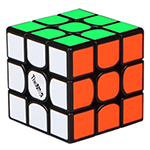 QiYi Valk3 Mini 3x3x3 Speed Cube Black