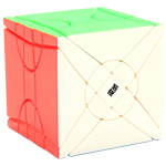 MoYu Fisher Time Wheel Stickerless Magic Cube Puzzle