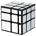 MoYu Cubing Classroom Mirror Cube Brushed Silver